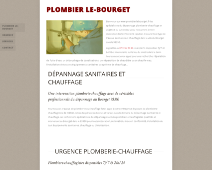 services Bourget