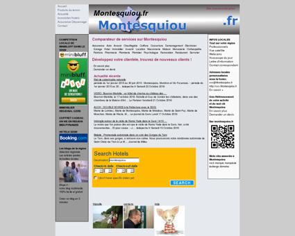 services Montesquiou