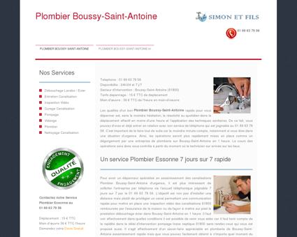 services Saint Antoine