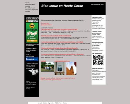 services Haute Corse