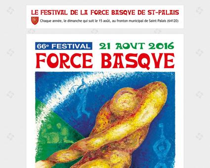 festival de la force basque de saint-palais