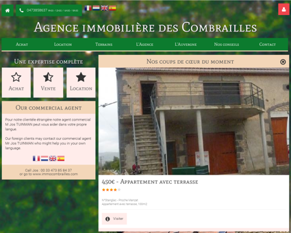 agence immobiliere des