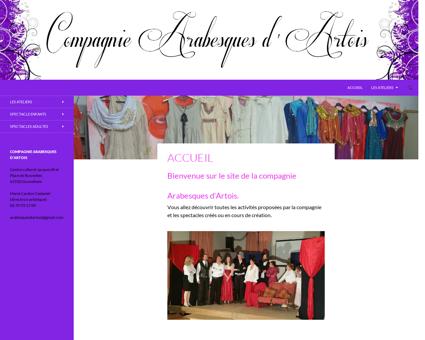 compagnie arabesques d'artois