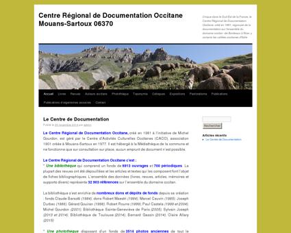 centre régional de documentation occitane