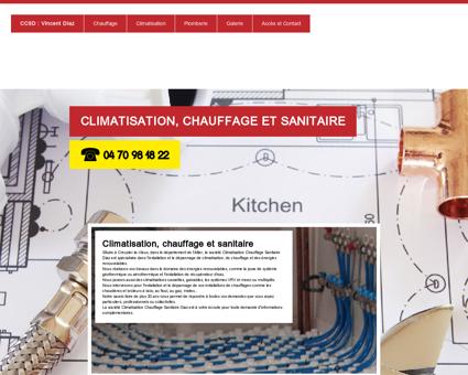 climatisation chauffage sanitaire diaz