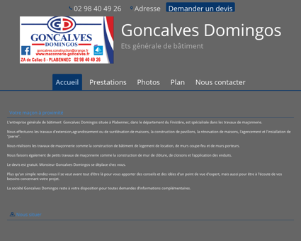sarl goncalves domingos