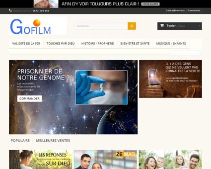 gospel film.com Alain