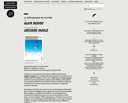 La republique de platon Alain