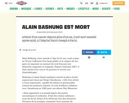 Alain BASHUNG