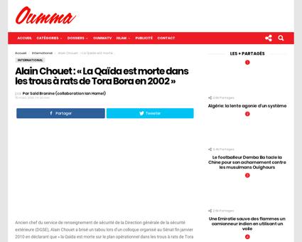 Alain Chouet La Qaida est morte Alain