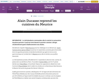 30005 20130705ARTFIG00781 alain ducasse  Alain