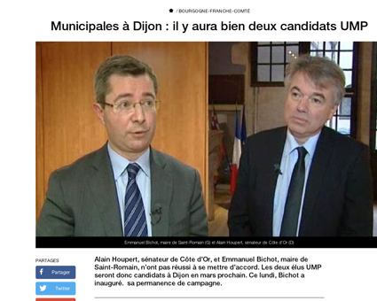 Municipales dijon il y aura bien deux ca Alain