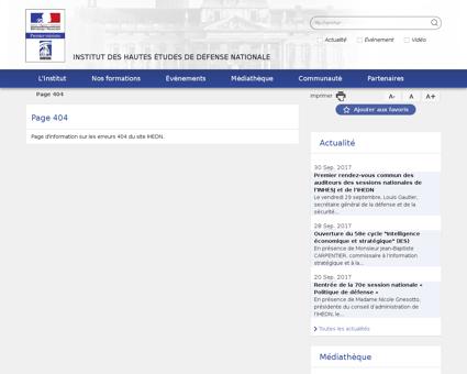 Liste auditeurs sessions nationale 2010 Alain