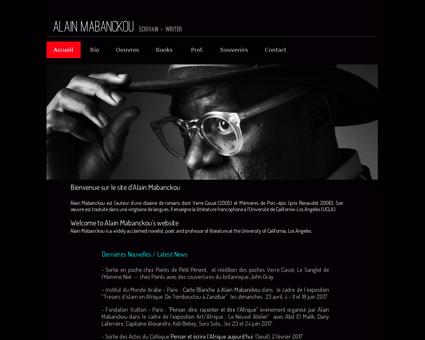 alainmabanckou.com Alain