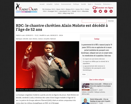 Alain MOLOTO