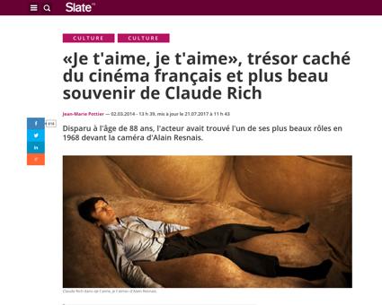 Mort resnais je t aime rich Alain