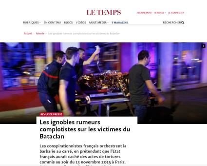 Ignobles rumeurs complotistes victimes b Alain