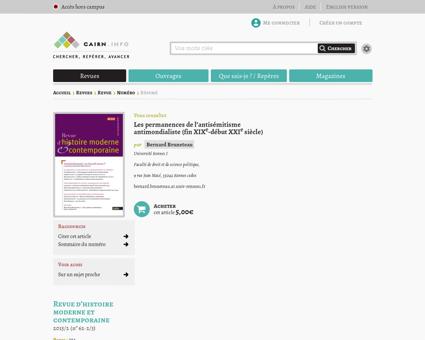 Resume?ID ARTICLE=RHMC 622 0225 Alain