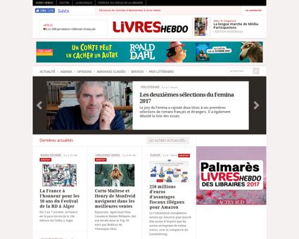 livreshebdo.fr Alain