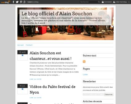 Souchon.over blog.com Alain