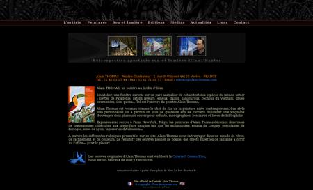 alain thomas.com Alain