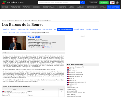 Biographie Alain