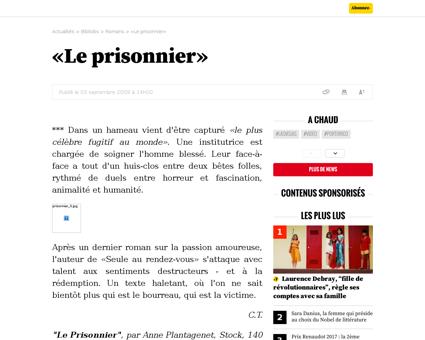 Le prisonnier Anne