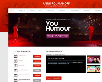 anneroumanoff.com Anne