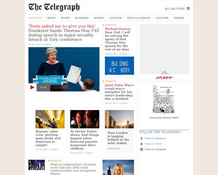 telegraph.co.uk Anthony