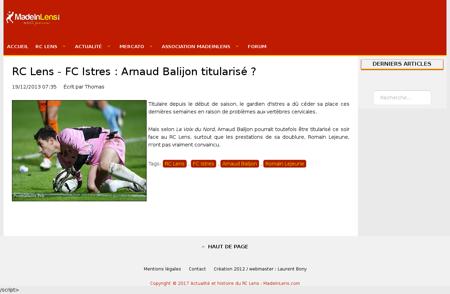 Arnaud BALIJON