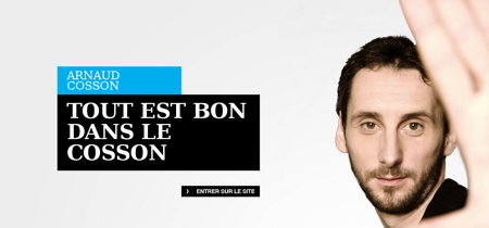 arnaudcosson.com Arnaud