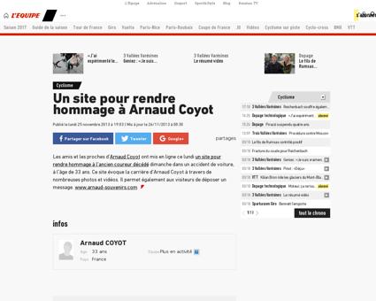 Arnaud COYOT