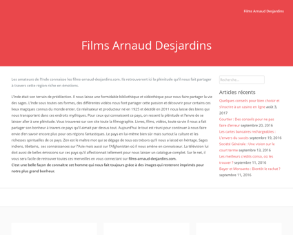 films arnaud desjardins.com Arnaud