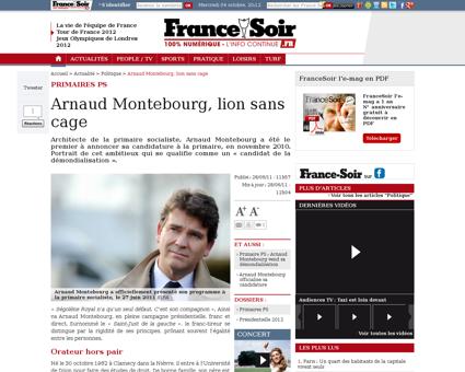 Montebourg l arcep fait des choix politi Arnaud