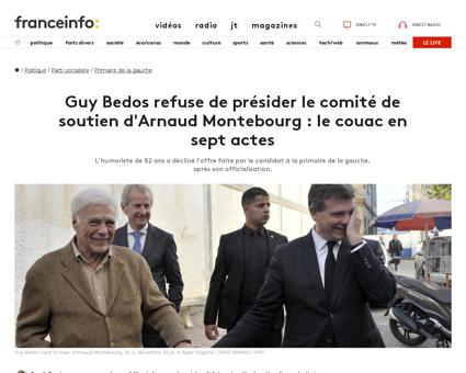 Arnaud MONTEBOURG