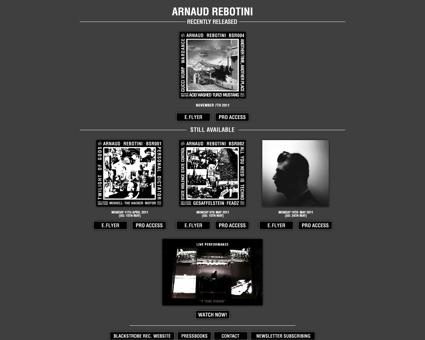 rebotini.blackstroberecords.com Arnaud