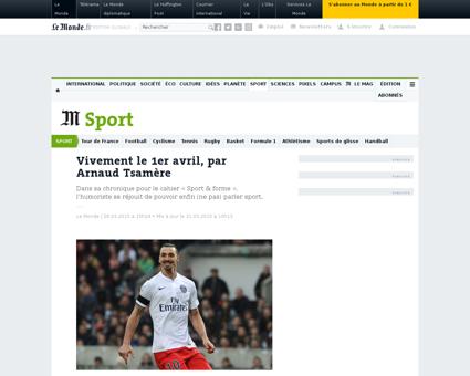Parlons sport par arnaud tsamere 4602172 Arnaud