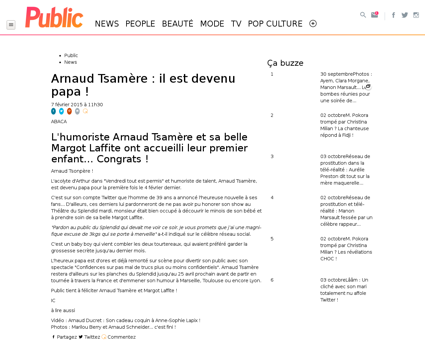 Arnaud Tsamere il est devenu papa 675702 Arnaud