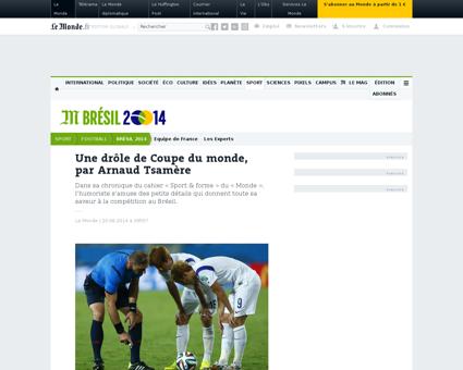 Une drole de coupe du monde par arnaud t Arnaud