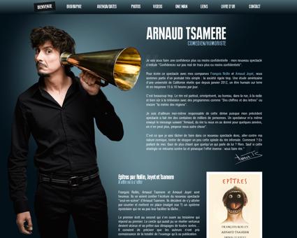 arnaudtsamere.com Arnaud