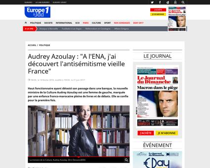 Audrey AZOULAY