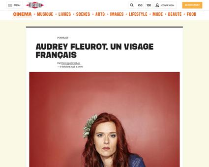 Audrey FLEUROT