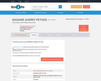 Madame audrey petoud 799534573 Audrey