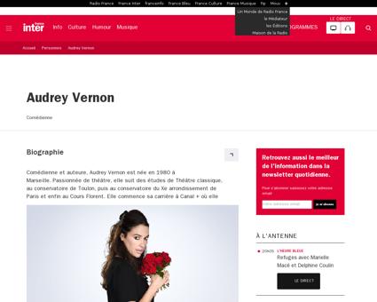 Audrey VERNON