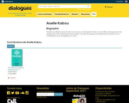 Axelle KABOU