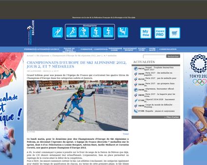 Championnats d europe de ski alpinisme 2 Axelle