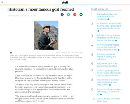 Historians mountainous goal reached Beatrice