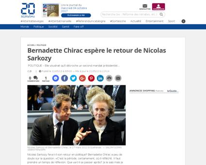 1159707 20130522 bernadette chirac esper Bernadette
