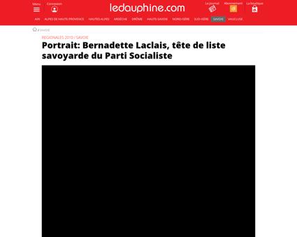 Bernadette LACLAIS
