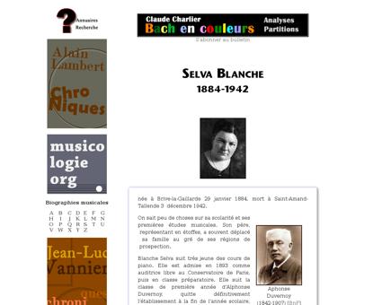Selva blanche Blanche